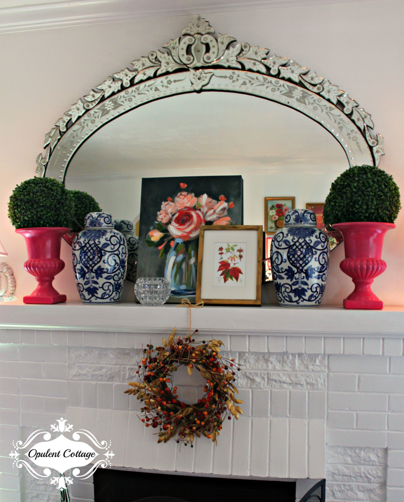 Opulent Cottage Fall 2018 Mantel