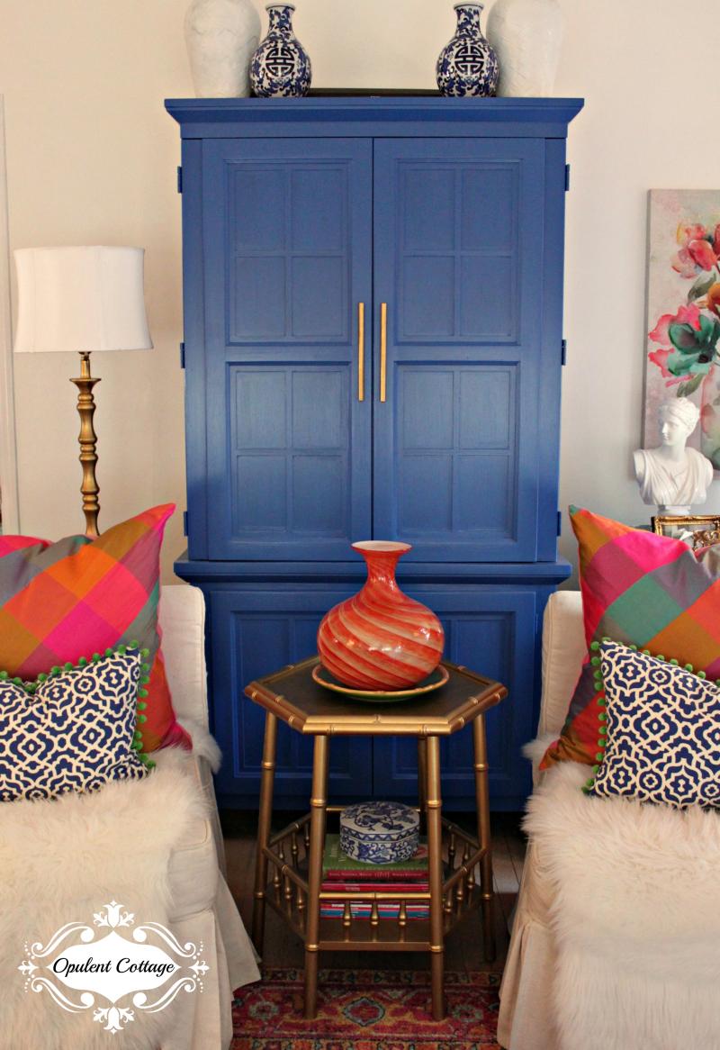 Opulent Cottage Fall Vase