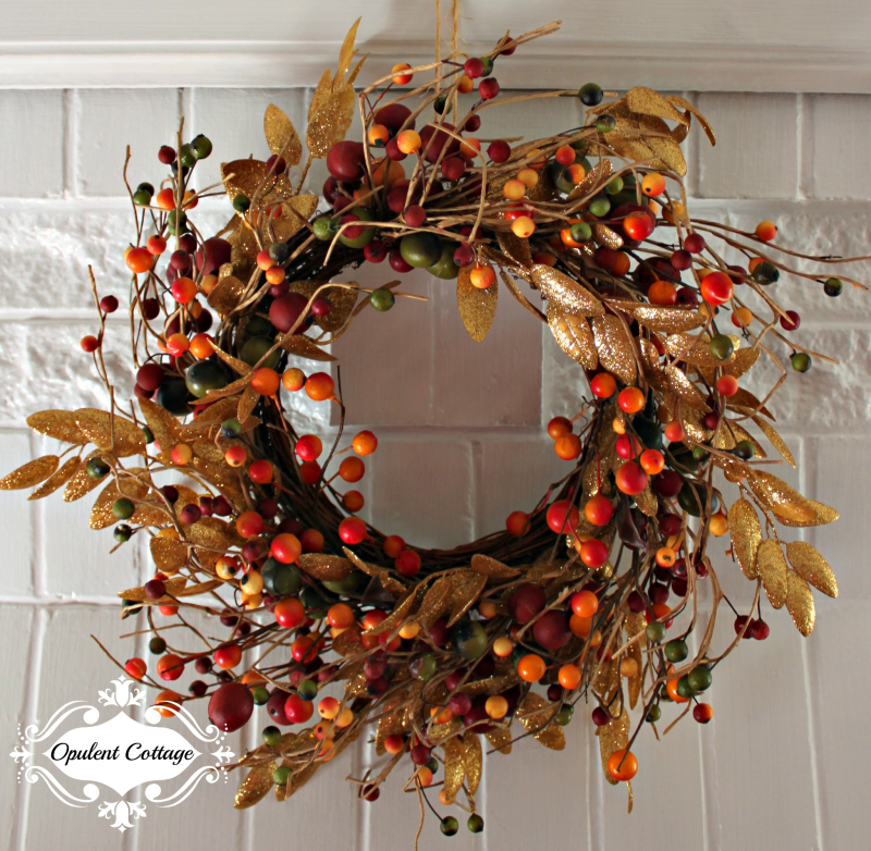 Opulent Cottage Fall Wreath