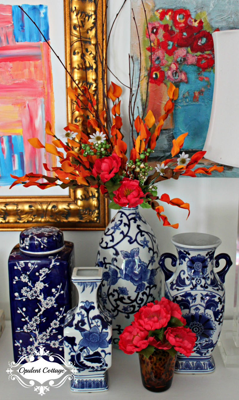 Opulent Cottage Fall Chinoiserie